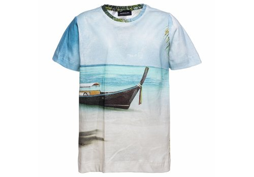 Monnalisa Monnalisa T-Shirt Palme Hawaii
