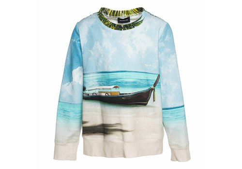 Monnalisa Monnalisa Sweater Palme Hawaii