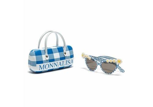 Monnalisa Monnalisa Zonnebril Wit - Blauw