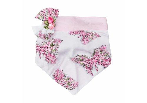 Monnalisa Monnalisa Bandana White - Pink