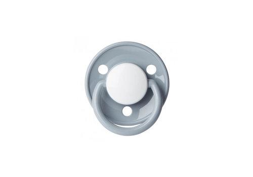 BIBS BIBS Pacifier Silicone De Luxe Grey 6 - 18M