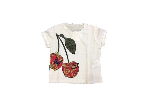 Liu Jo Liu Jo T-Shirt Cherry - Butterfly