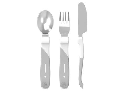 TwistShake Twistshake Cutlery Steel 12M+ White