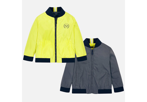 Mayoral Mayoral Reversible Coat Lemon