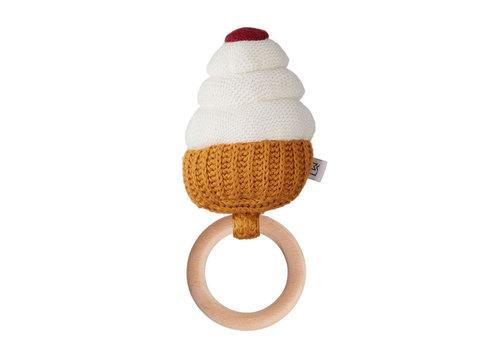 Liewood Liewood Rattle Aria Cupcake