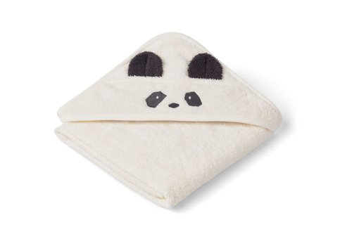 Liewood Liewood Baby Hooded Towel Panda Creme De La Creme