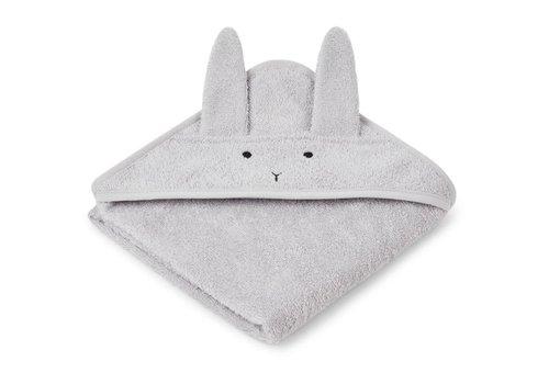 Liewood Liewood Baby Hooded Towel Rabbit Dumbo Grey