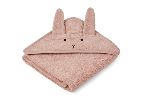 Liewood Liewood Baby Hooded Towel Rabbit Rose