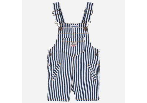 Mayoral Mayoral Salopette Stripes Denim