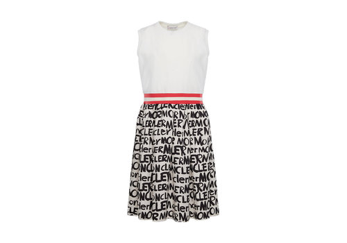 Moncler Moncler Dress Black - White