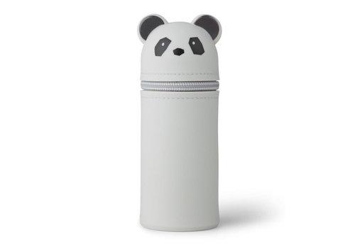 Liewood Liewood Pencil Case Panda Dumbo Grey