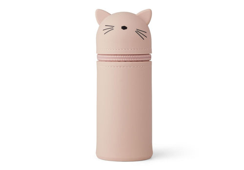 Liewood Liewood Pencil Case Cat Rose