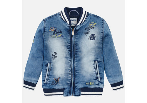 Mayoral Mayoral Denim Jacket Wild Boy