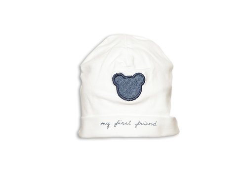 My First Collection My First Collection Hat Teddy First Friend White - Denim