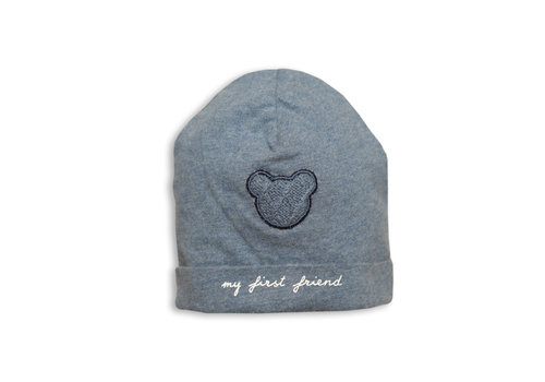 My First Collection My First Collection Hat Teddy First Friend Denim