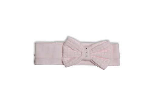 My First Collection My First Collection Headband XXL Bow Swarovski Pink