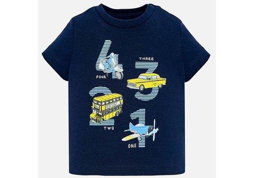 Mayoral Mayoral T-Shirt Vehicles 1 2 3 4