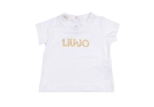 Liu Jo Liu Jo T-Shirt Logo Wit