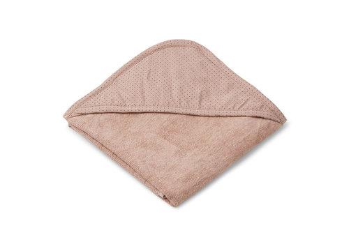 Liewood Liewood Hooded Towel  Winnie Little Dot Rose