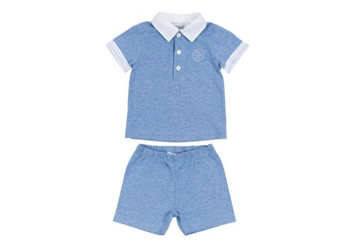 Cotolini Cotolini Pyjama Short Clement Ciel Chine