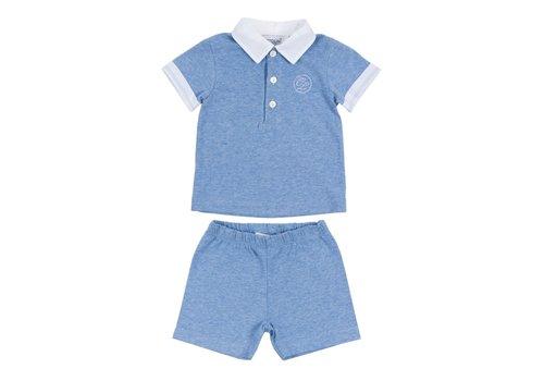 Cotolini Cotolini Pyjamas Short Clement Ciel Chine