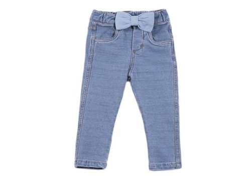 Natini Natini Denim Pants Jeany Bow Light Blue