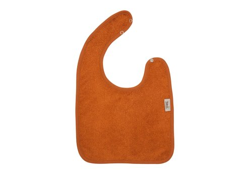 Timboo Timboo Bib Large 26 x 38 With Snap Buttons Inca Rust