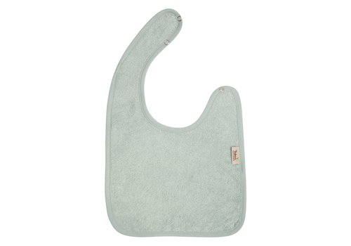 Timboo Timboo Bib Large 26 x 38 With Snap Buttons Sea Blue