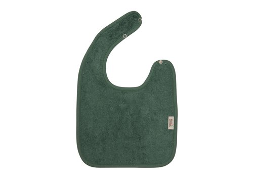 Timboo Timboo Bib Large 26 x 38 With Snap Buttons Aspen Green