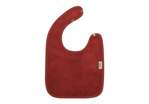 Timboo Timboo Bib Large 26 x 38 With Snap Buttons Rosewood