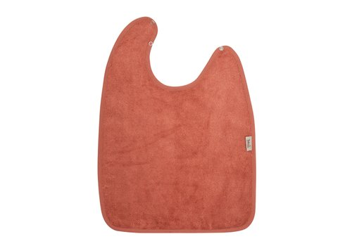 Timboo Timboo Bib XL 37 x 50 With Snap Buttons Apricot Blush