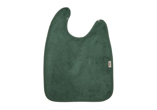 Timboo Timboo Bib XL 37 x 50 With Snap Buttons Aspen Green