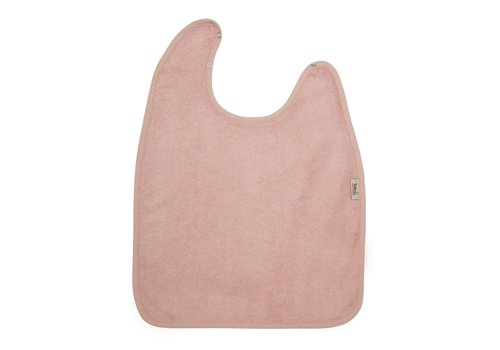 Timboo Timboo Bib XL 37 x 50 With Snap Buttons Misty Rose