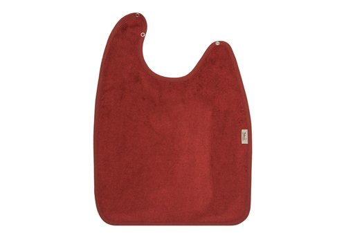 Timboo Timboo Bib XL 37 x 50 With Snap Buttons Rosewood