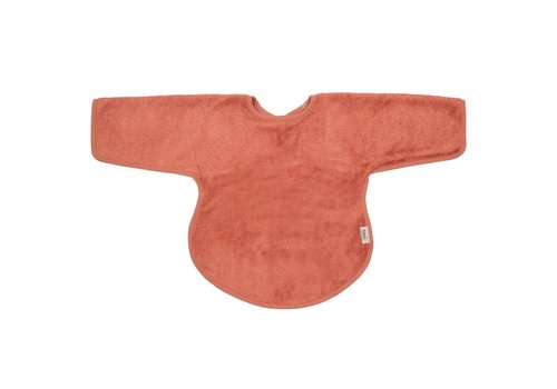 Timboo Timboo Bib With Sleeves Apricot Blush