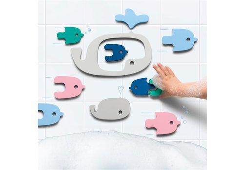 Quutopia Quutopia Bath Toys Whale Bath Puzzle