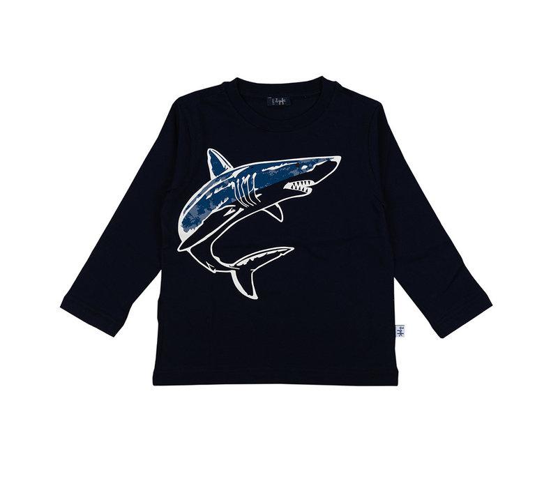 Il Gufo T-Shirt Donkerblauw