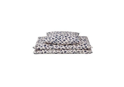 Liewood Liewood Bed Linen 140 x 200 Carl Adult Leo Beige Beauty