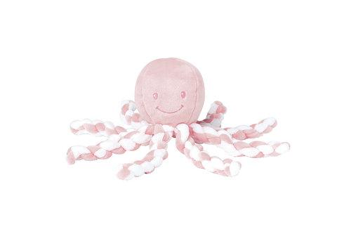 Nattou Nattou Knuffel Octopus Wit - Lichtroze