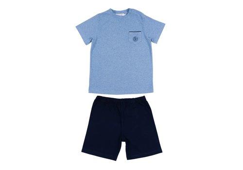 Cotolini Cotolini Pyjama Short Noa Marine