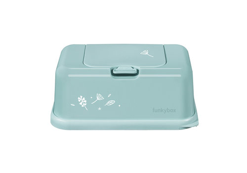 Funkybox Funkybox Baby Wipes Box Mint Leaves