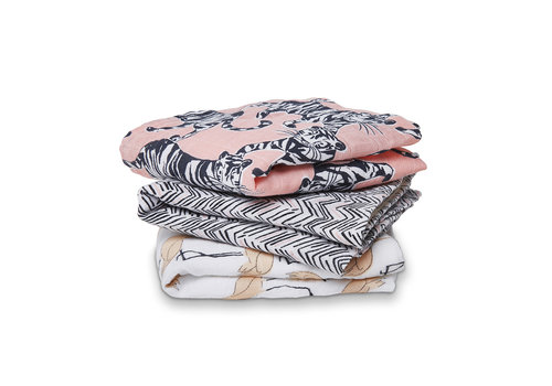 Aden & Anais Aden & Anais Swaddles Pacific Paradise 3-Pack Mulin Squares