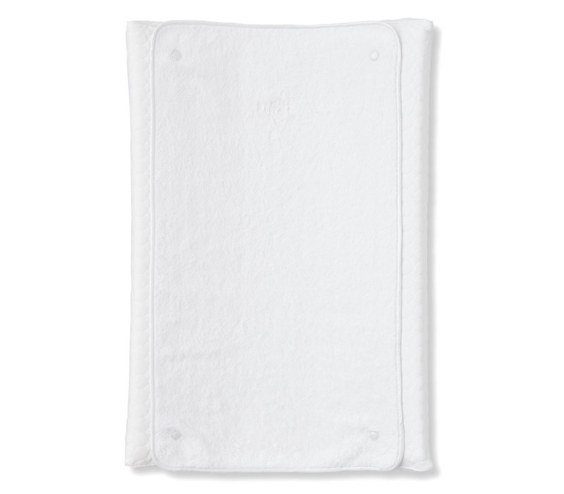 My First Collection Cover Changing Pad + Terry Cloth Crystal White