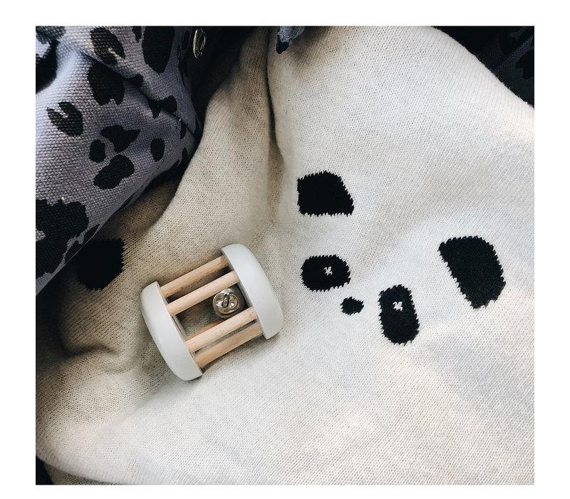 Liewood Dekentje Leif Baby Blanket Panda Beige Beauty