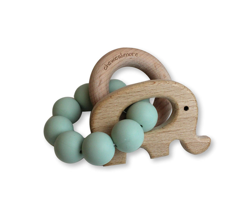 Chewies & More Play Rattle Elephant Early Sea
