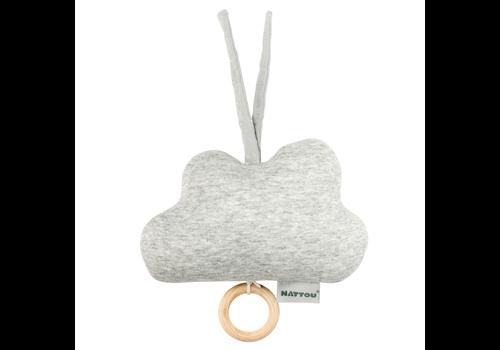Nattou Nattou Musical Toy Cloud Grey