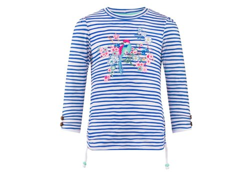 Sunuva Sunuva UV T-Shirt Rash Blue - White