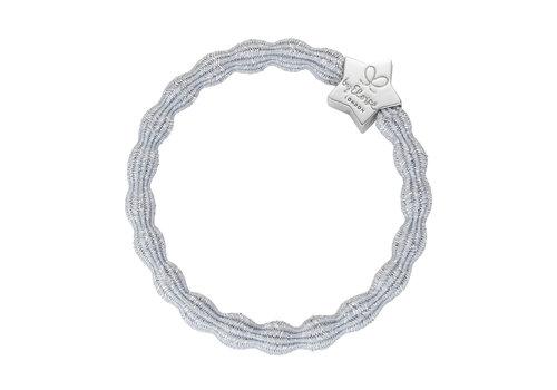 By Eloise Haarelastiek / Armband Metallic Silver Star Silver
