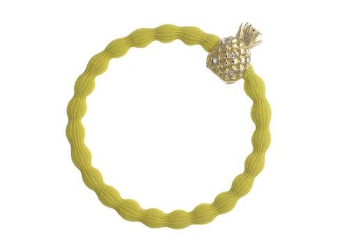 By Eloise Haarelastiek / Armband Pineapple Sunshine Yellow