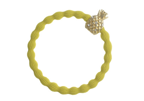 By Eloise Hair Tie / Bracelet Pineapple Sunshine Yellow